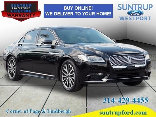 2017 Lincoln Continental Select In St Louis Mo Suntrup Ford Westport